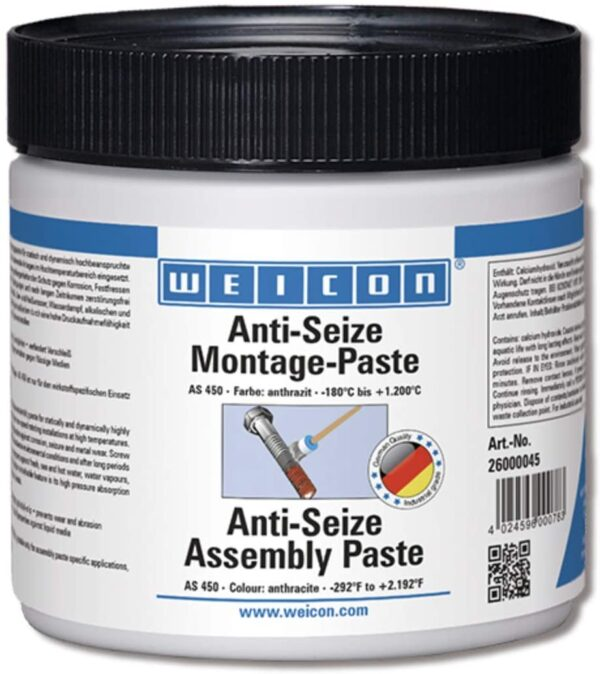Weicon Anti-Seize Nickel Assembly Paste 450g