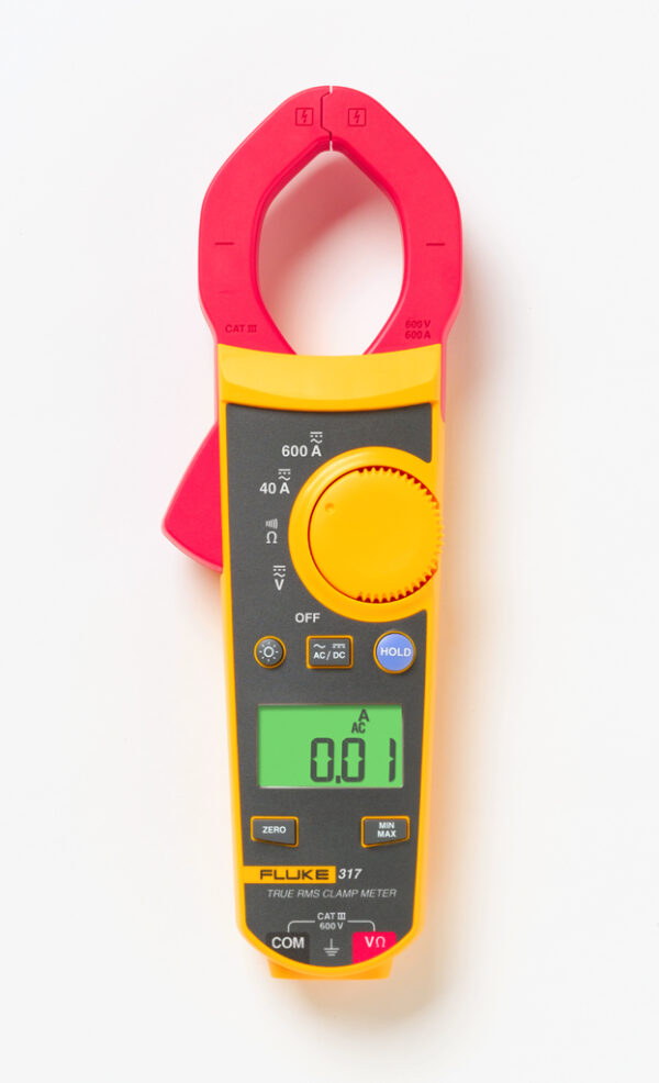 FLUKE 317 TRUE RMS CLAMP METER 40A