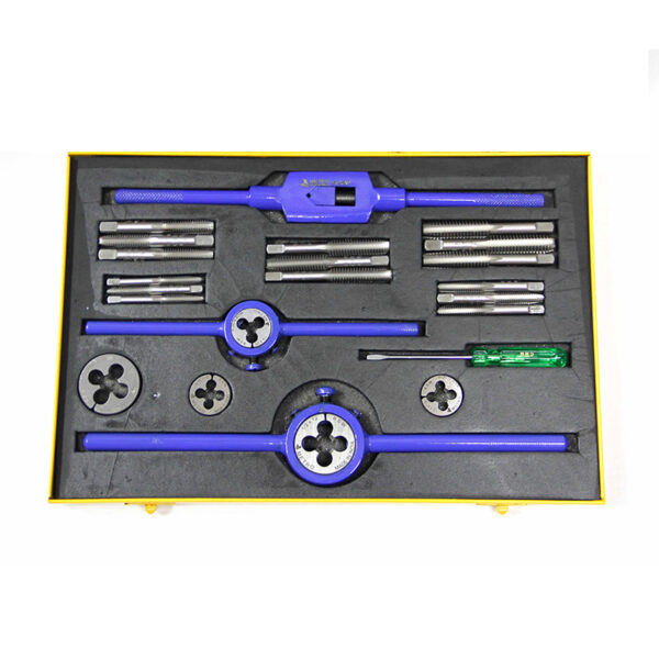 Metro 1/4 TO 1 BSW 42 Piece Tap & Round Die Set