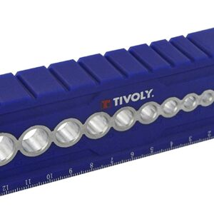 Tivoly Pilot 5 Blue Rectangular Drilling Guide
