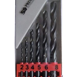 Tivoly 2 to 8mm HSS Drill Bit 6 Piece Set
