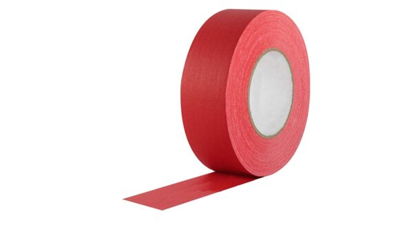 TAMTEK – Red Duct Tape 50mm Width X 25 Yards