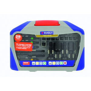 Tivoly 29 Piece Screwdriver Set and Tie Impact Shock Series