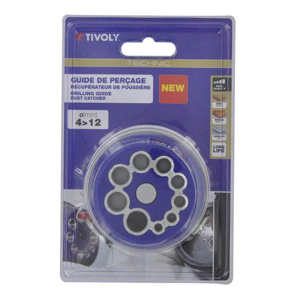Tivoly Pilot 4 Drilling Guide Round Blue