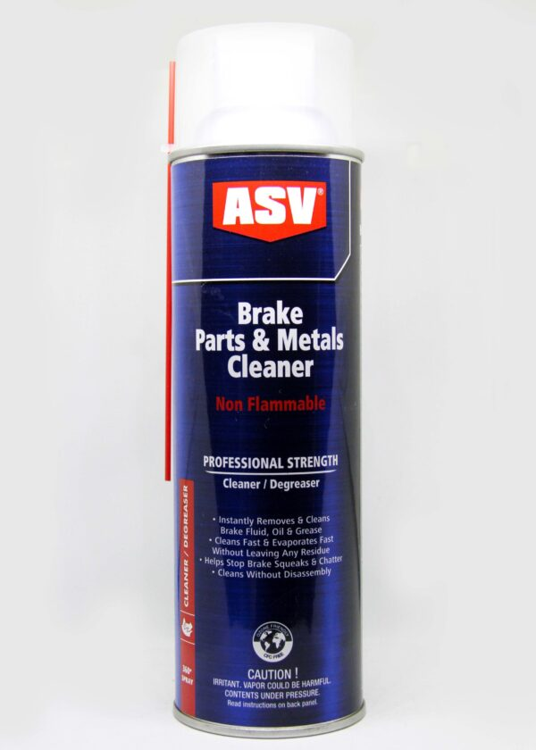 ASV  Brake parts&metal cleaners (non flammable professional strength)