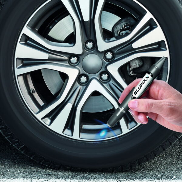 BLUFIXX Strong Surface Repair Kit For Car Rims With LED Light