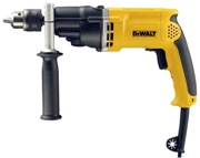DEWALT D21805-LX 2 SPEED 13MM PERCUSSION DRILL WITH KITBOX 110V