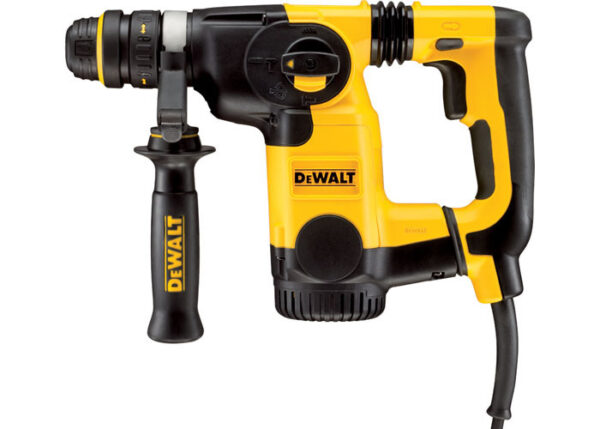 DEWALT D25324K-LX 26MM L-SHAPE SDS-PLUS COMBINATION HAMMER + QCC + AVC 110V