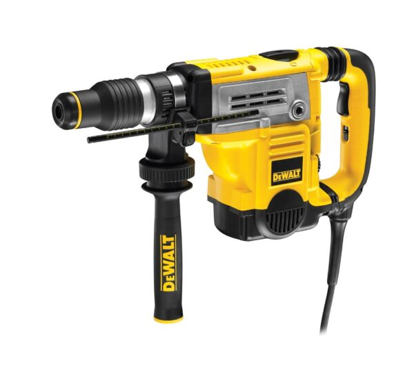 DEWALT D25601K-GB 6KG SDS-MAX COMBINATION HAMMER 45MM 220V