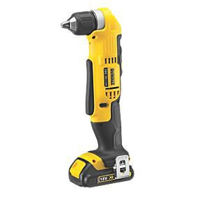 DEWALT DCD740C1-GB 18V XR LI-ION 10MM RIGHT ANGLE DRILL/DRIVER