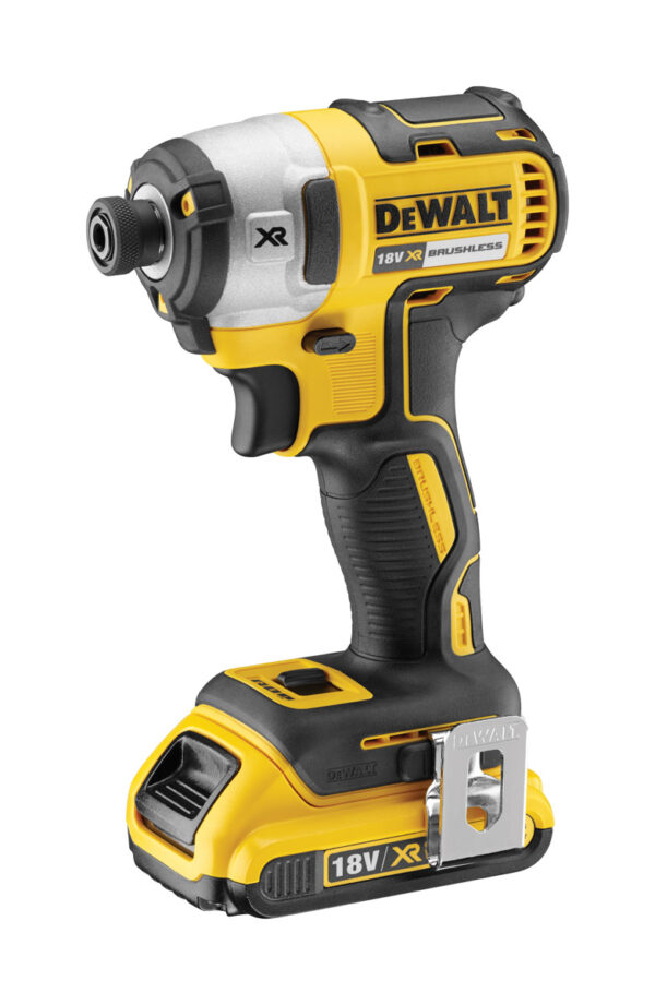 DEWALT DCF887D2-GB 18V XR LITHIUM ION BRUSHLESS 1/4-INCH IMPACT DRIVER