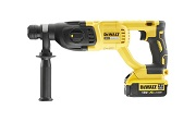DEWALT DCH133M1-GB 18V XR SDS + BRUSHLESS HAMMER 4AH