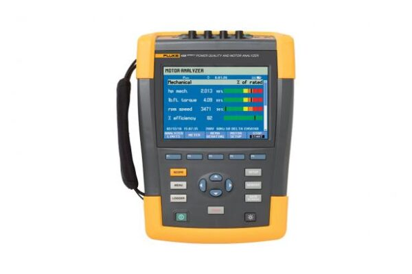 FLUKE 438-II-INTL POWER QUALITY & MOTOR ANALYZER