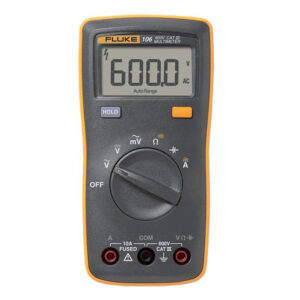 FLUKE 106 PALM-SIZED DIGITAL MULTIMETER – 600V