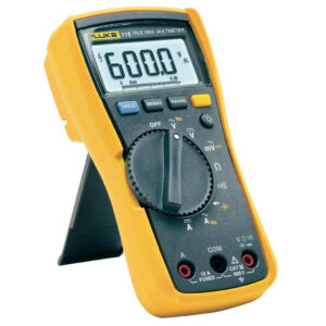 FLUKE 115 TRUE RMS FIELD SERVICE TECHNICIANS MULTIMETER – 600VAC/DC