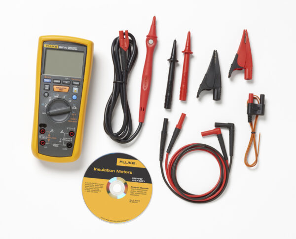 FLUKE 1587FC INSULATION MULTIMETERS WITH FLUKE CONNECT