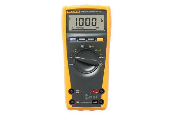 FLUKE 175 TRUE RMS MULTIMETER 1000V – 10A