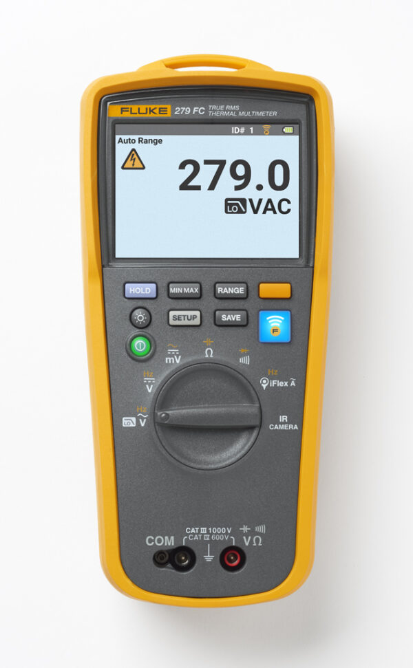 FLUKE 279FC FULL-FEATURED DIGITAL MULTIMETER WITH INTEGRATED THERMAL IMAGING
