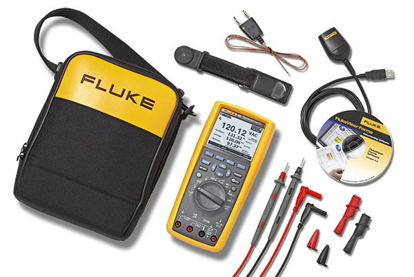 FLUKE 289-FVF-EUR INDUSTRIAL LOGGING MULTIMETER AND SOFT COMBO KIT