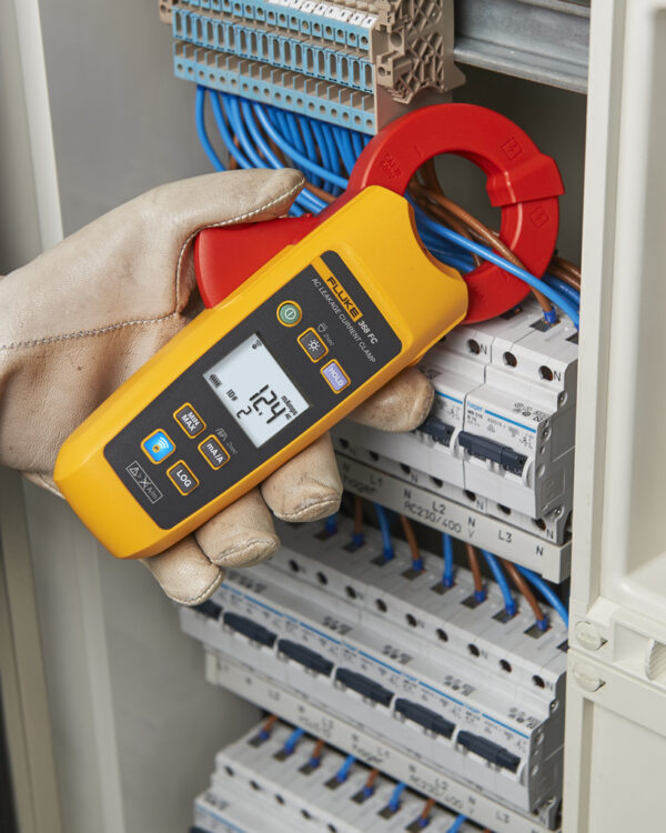 FLUKE 368FC LEAKAGE CURRENT CLAMP METER 40MM JAW – 60A / FC
