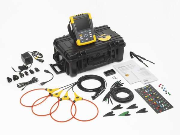 FLUKE 437-II-INTL 400 HZ POWER QUALITY AND ENERGY ANALYZER