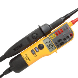 FLUKE T130 VOLTAGE/CONTINUITY TESTER WITH LCD; SWITCHABLE LOAD