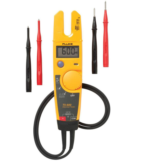 FLUKE T5-600 VOLTAGE; CONTINUITY AND CURRENT TESTER